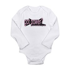 got power thank my dad Body Suit