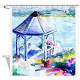 Gazebo At the Cove Shower Curtain