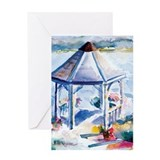 Gazebo At the Cove Greeting Card