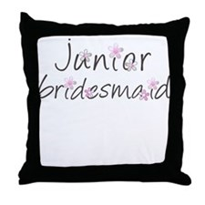 Sweet Jr. Bridesmaid Throw Pillow