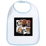 Let It Beagle Bib