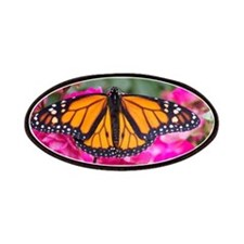 monarch on rose Patches