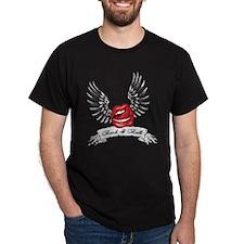 Rock N Roll Winged Lips T-Shirt