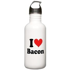 I Heart Bacon Water Bottle