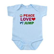 Peace Love Jump Designs Infant Bodysuit