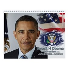 44th President Collectors' Wall Calendar