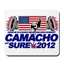 CAMACHO / NOT SURE - CAMPAIGN 2012 Mousepad