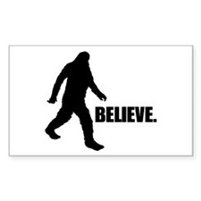 BELIEVE IN BIGFOOT Decal