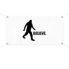 BELIEVE IN BIGFOOT Banner