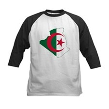 Algeria Flag and Map Tee
