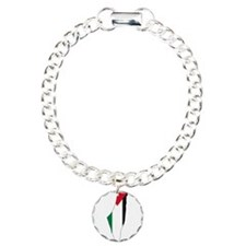 Palestine Flag and Map Bracelet