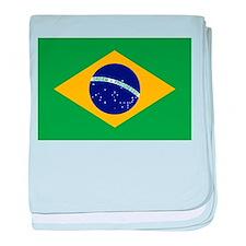 Brazil baby blanket