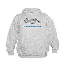 cruise ship vacation Hoodie