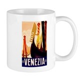 Venice Travel Poster 1 Small Mug