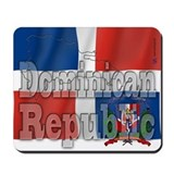 Silky Flag Dominican Republic Mousepad