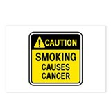 Smoking Warning Postcards (Package of 8)