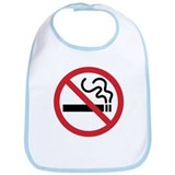 No Smoking Bib