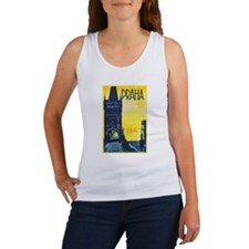 Prague Travel Poster 1 Women's Tank Top
