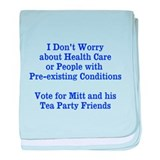 Pre-existing health conditions baby blanket
