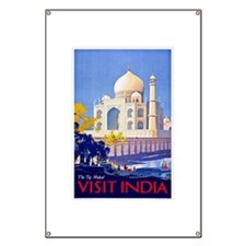 India Travel Poster 13 Banner