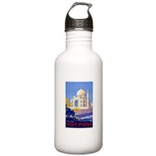 India Travel Poster 13 Sports Water Bottle