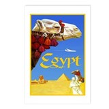 Egypt Travel Poster 3 Postcards (Package of 8)