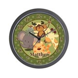 Jungle Safari Clock - Matthew