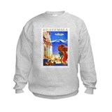 Guatemala Travel Poster 2 Sweatshirt