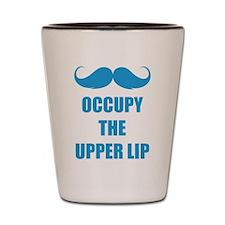 Occupy the upper lip Shot Glass