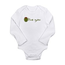 Unique Food Long Sleeve Infant Bodysuit