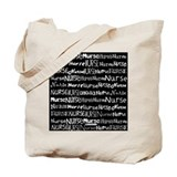 Nurse Nurse Nurse Black Tote Bag