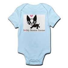 Boston Terrier t-shirt Body Suit