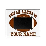 1st birthday allstar football Picture Frame