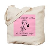 Hello Shift Pink Nurse Tote Bag