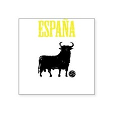 "Espana Square Sticker 3"" x 3"""