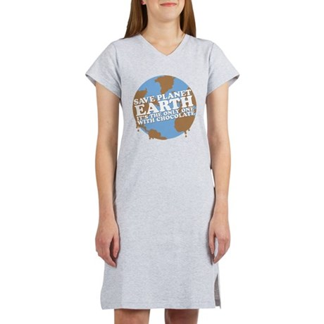 save earth Women's Nightshirt