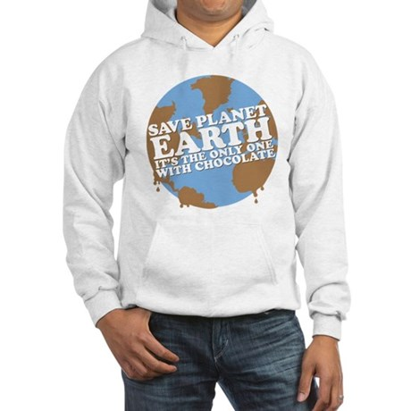 save earth Hooded Sweatshirt