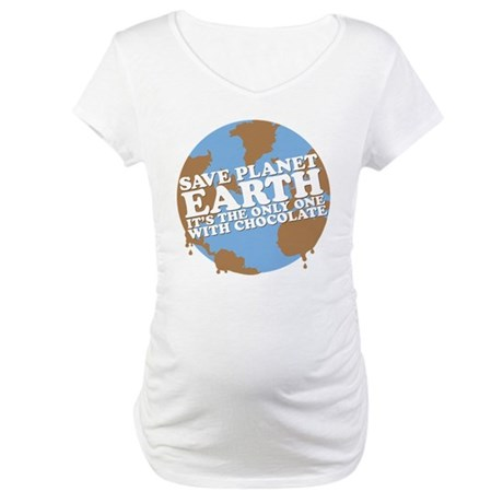 save earth Maternity T-Shirt