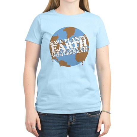 save earth Women's Light T-Shirt