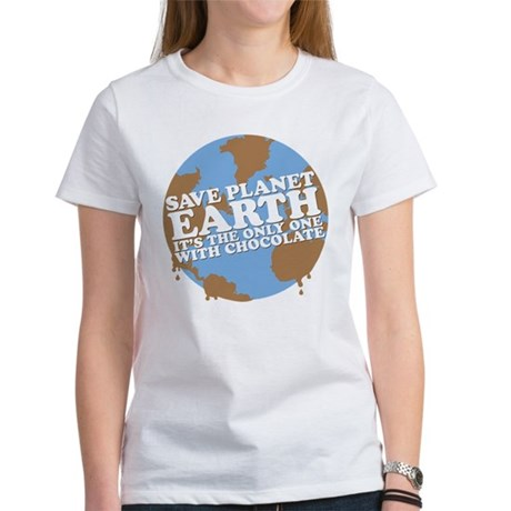 save earth Women's T-Shirt