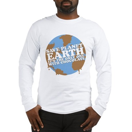 save earth Long Sleeve T-Shirt