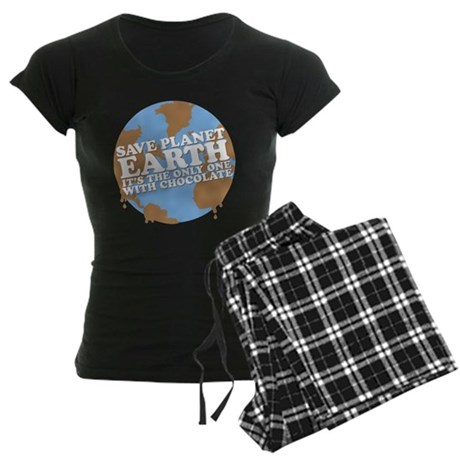 save earth Women's Dark Pajamas
