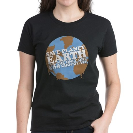 save earth Women's Dark T-Shirt