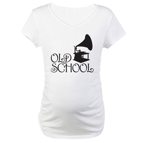 Old School Maternity T-Shirt
