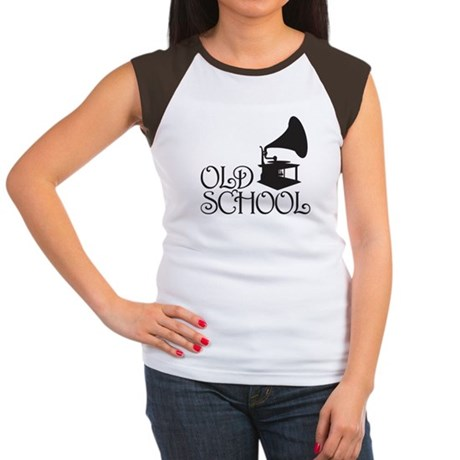 Old School Women's Cap Sleeve T-Shirt