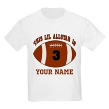 3rd Birthday Football T-Shirt