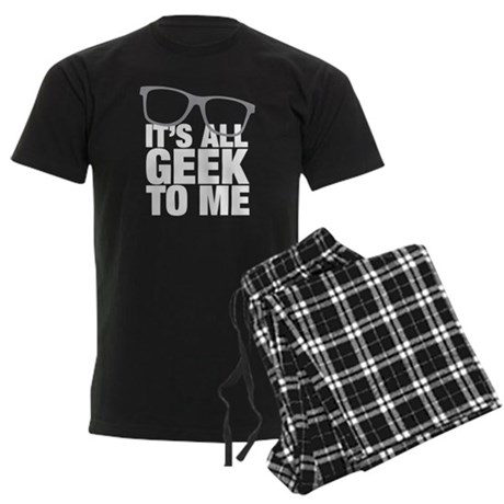 Geek to me Men's Dark Pajamas