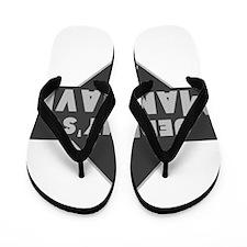 Personalized Man Cave Flip Flops