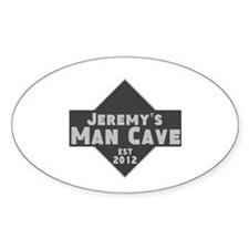 Personalized Man Cave Decal
