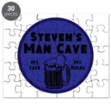 Personalized Man Cave Puzzle